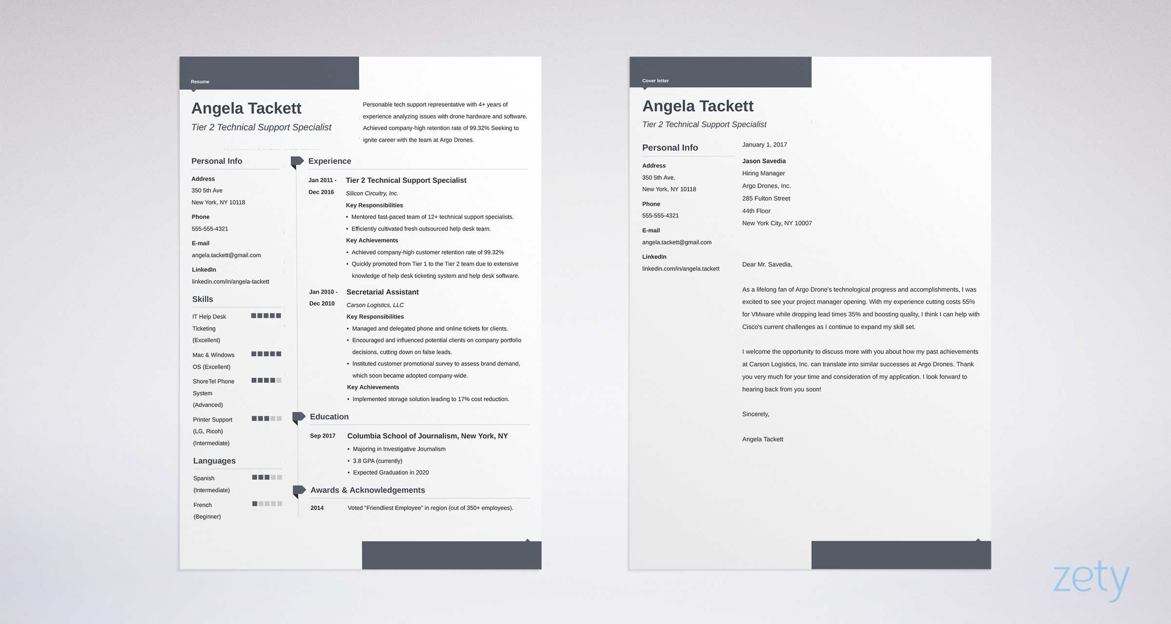 resume-builder_zety-2 Template Cover Letter Download Teaching Job Freeword Nsgmxs on