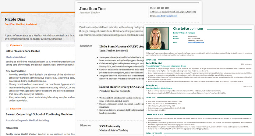 Best Online Resume Builders In 2018 A Comparative Analysis Guide