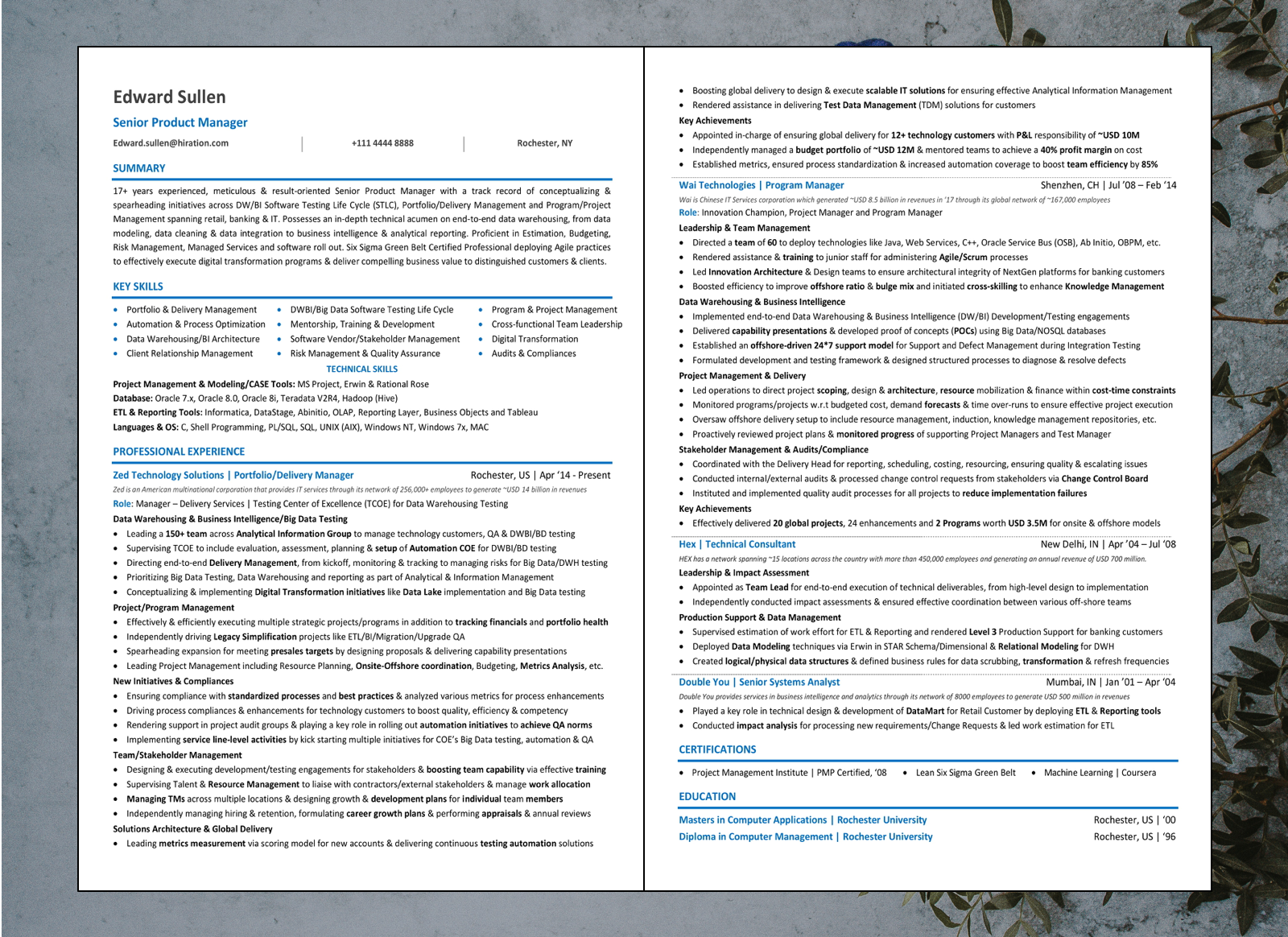 product manager resume  2020 guide with samples  u0026 examples