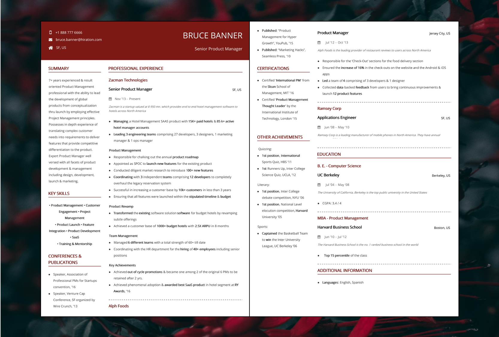 Product Manager Resume 2020 Guide With Samples Amp Examples