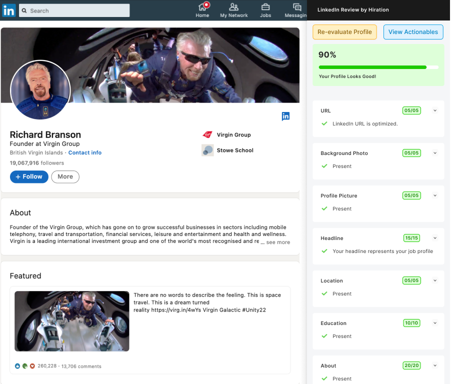 LinkedIn Review