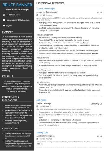 Technology Resume Examples And Samples