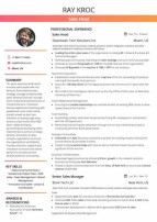 Brand Manager Resume Sample by Hiration